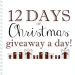 12daysimg 500x185 150x150 12 Days of Christmas Giveaway: DORIDORI Baby Swaddle Blanket and Changing Pad!