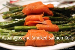 Asparagus and Smoked Salmon Rolls 1