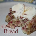 Cranberry Bread 500x3331 150x150 25 Days of Holiday Treats: Strawberry Santa Hats