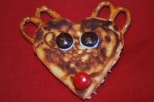 25 Days of Holiday Treats: Reindeer Pancakes! 1