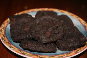 25 Days of Holiday Treats: Chewy Double Chocolate Cookies 2