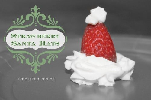 IMG 0764 500x333 25 Days of Holiday Treats: Strawberry Santa Hats
