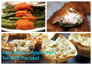 Last Minute Appetizers for NYE Parties! 1