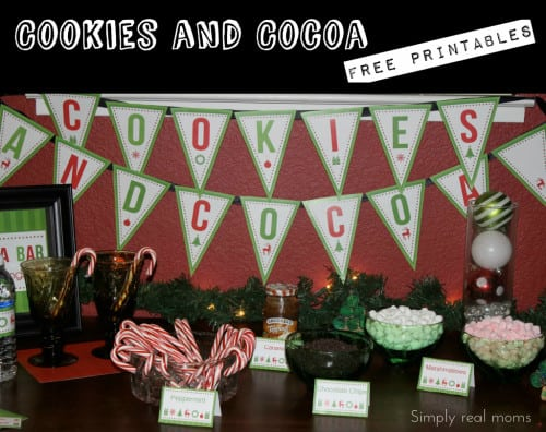 PicMonkey Collage1 500x396 FREE Holiday Printables: Cookies and Hot Cocoa