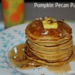 25 Days of Holiday Treats: Pumpkin Pecan Pancakes