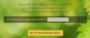 Likelii: Wine Recommendations Made Easy 1