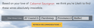 Likelii: Wine Recommendations Made Easy 2