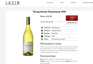 Likelii: Wine Recommendations Made Easy 4
