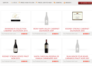Likelii: Wine Recommendations Made Easy 9