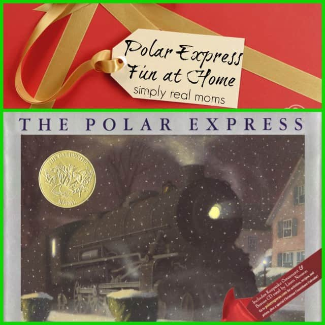 fun at home with the Polar Express from Simplly Real Moms