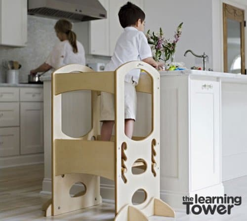 learning tower 3 500x448 12 Days of Christmas Giveaway Grand Finale: The Learning Tower AND A Playhouse Kit!