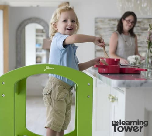 learning tower 4 500x448 12 Days of Christmas Giveaway Grand Finale: The Learning Tower AND A Playhouse Kit!
