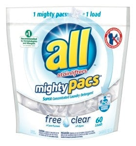 All Free Clear: The Only Detergent You'll Ever Need! 1