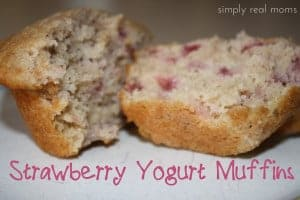 Valentine's Breakfast: Strawberry Yogurt Muffins 1