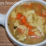 Homemade Chicken Noodle Soup: Just what the Doctor Ordered!
