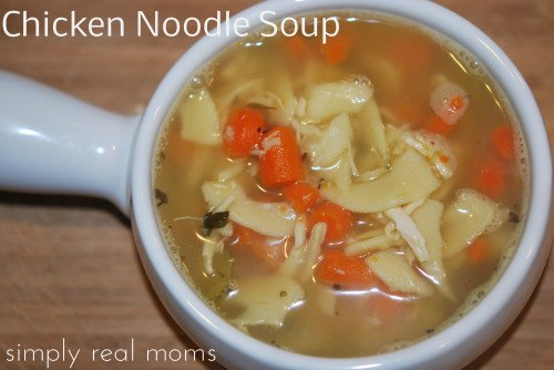 Homemade Chicken Noodle Soup: Just what the Doctor Ordered! 2