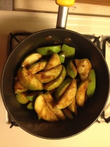 Sweet, Delectable, Stovetop Cinnamon Apples 4