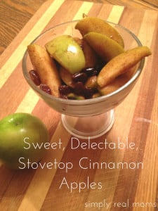 Sweet, Delectable, Stovetop Cinnamon Apples 1