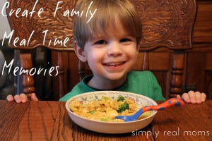 Create Family Meal Time Memories 3