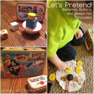 Let's Pretend! Buttons, Batteries and Beeps Not Included! 1