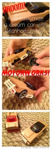 VROOM!! Kids Customize a Dream Car with MOTORWORKS from Manhattan Toy! 1