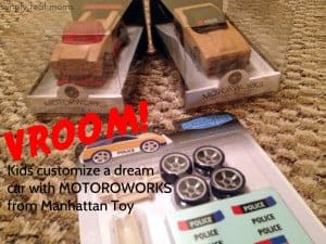 VROOM!! Kids Customize a Dream Car with MOTORWORKS from Manhattan Toy! 2