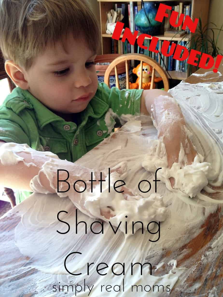 Bottle of Shaving Cream-Fun Included! 1