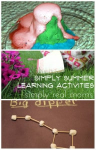 Simply Summer Learning Activities 1