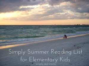 Simply Summer Reading List for Elementary Kids 1