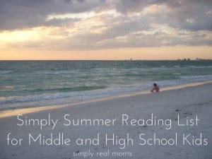 Simply Summer Reading List for Middle and High School Kids 1