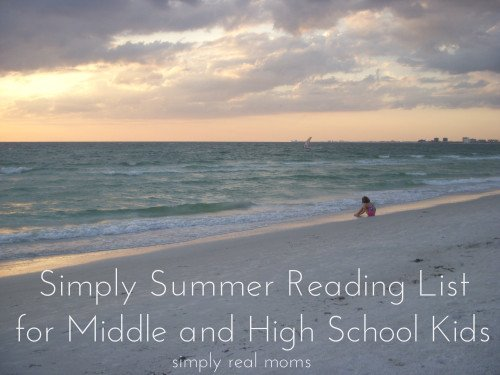 Simply Summer Reading List for Middle and High School Kids 2