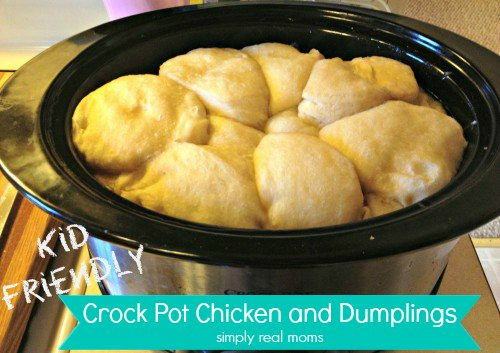 Crock Pot Chicken and Dumplings 3