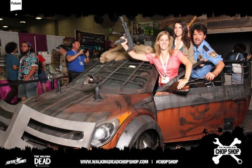 Hyundai Zombie Survival Machine Revealed At Comic Con