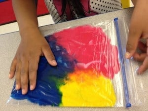 Primary Color Paint Mix-Mess Free! 3