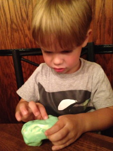 Pinch, Pull, Putty-Fun! An engaging fine motor activity from simplyrealmoms.com 2