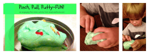 Pinch, Pull, Putty-Fun! An engaging fine motor activity from simplyrealmoms.com 3