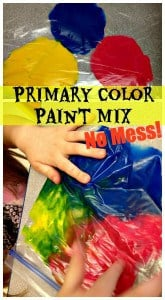 Primary Color Paint Mix-Mess Free! 1