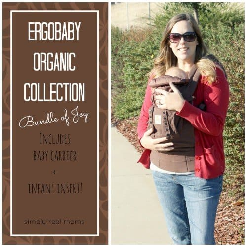 51f395063de Wearing Your Infant With The Ergobaby Bundle Of Joy - Simply Real Moms