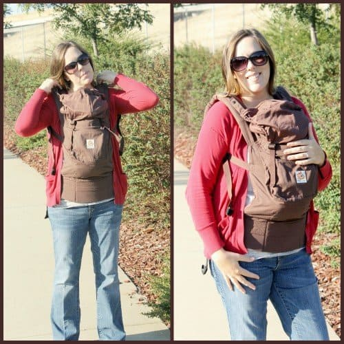 Wearing Your Infant With The Ergobaby Bundle Of Joy Simply Real Moms