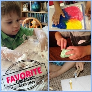 Favorite Fine Motor Activities 1