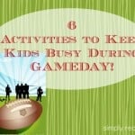 Fun Activities to Keep Kids Busy on Gameday