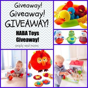 HABA Giveaway-Choose from 14 prizes! 1