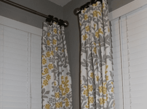 Simply Made Sunday: DIY No-Sew Curtains 7
