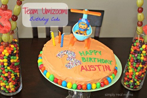 Team Umizoomi Birthday Cake 12