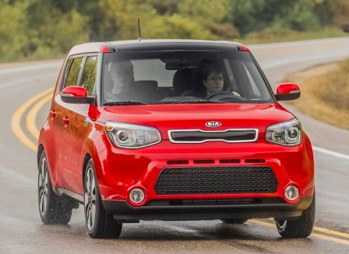 2014 Kia Soul Inferno Red