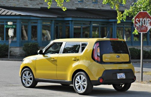 2014 Kia Soul Solar Yellow