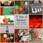 31 Days of Halloween Candy Costumes Decor and More from Simply Real Moms 500x5001 150x150 31 Days of Halloween: Trick or Treat Alternatives!