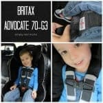 Britax Advocate 70-G3: Safety You Can See (And A Giveaway!)