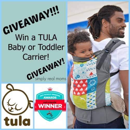 TULA Baby/Toddler Carrier Giveaway! (CLOSED) 2