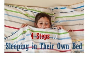 4 Essential Tips for How to Get Your Child to Sleep in Their Own Bed 2